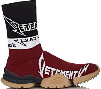 Reebok Sock Runner Vetements Burgundy Black White