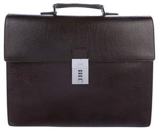 Gucci Grained Leather Briefcase