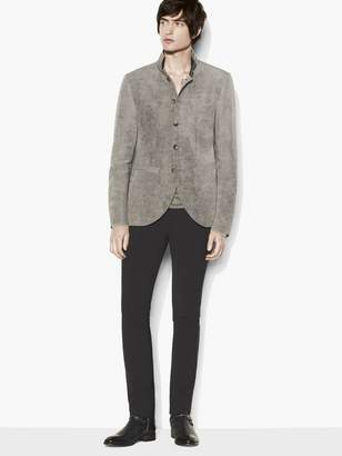 John Varvatos Contrast Collar Jacket