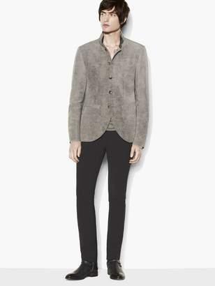 John Varvatos Contrast Collar Jacket