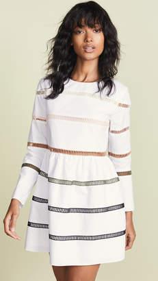 ENGLISH FACTORY A-Line Striped Dress