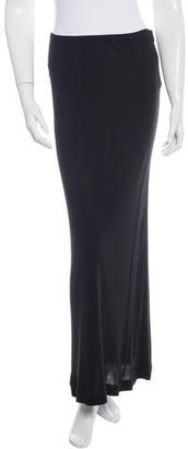 Jean Paul Gaultier Solid Maxi Skirt $65 thestylecure.com