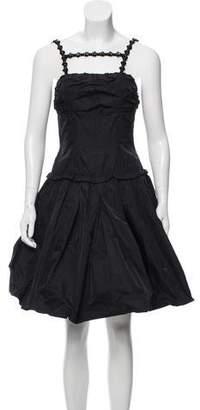 Louis Vuitton Embellished Sleeveless Dress