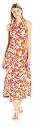 MSK Women's Knit Halter Maxi