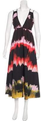 Tomas Maier Watercolor Maxi Dress w/ Tags