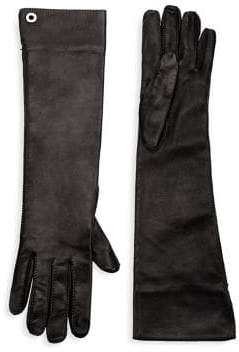 Loro Piana Long Leather Gloves