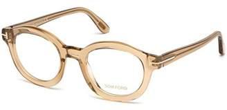 Tom Ford Eyeglasses FT 5460 045 shiny light brown