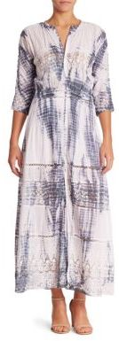 LOVESHACKFANCY Beth Tie Dye Dress $385 thestylecure.com