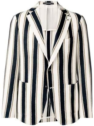 Tagliatore striped blazer
