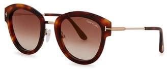 Tom Ford Mia Tortoiseshell Oval