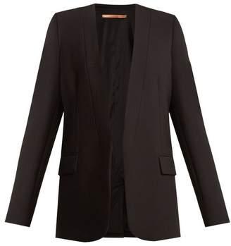 Summa - Shawl Lapel Cady Jacket - Womens - Black