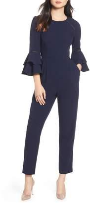 Eliza J Bell Sleeve Jumpsuit