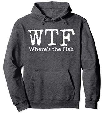 WTF Where's The Fish Pullover Hoodie
