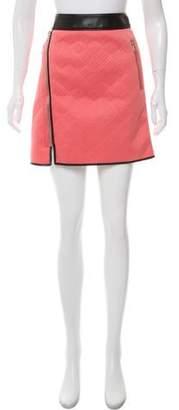 3.1 Phillip Lim Quilted Neoprene Mini Skirt