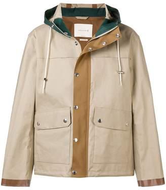 MACKINTOSH buttoned short raincoat