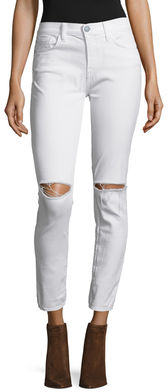 Rebecca MinkoffThompson Cotton Distressed Skinny Jean