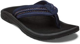 ba96cc07fb8 OluKai Men s Hokua Faux-Leather Flip-Flop Sandals