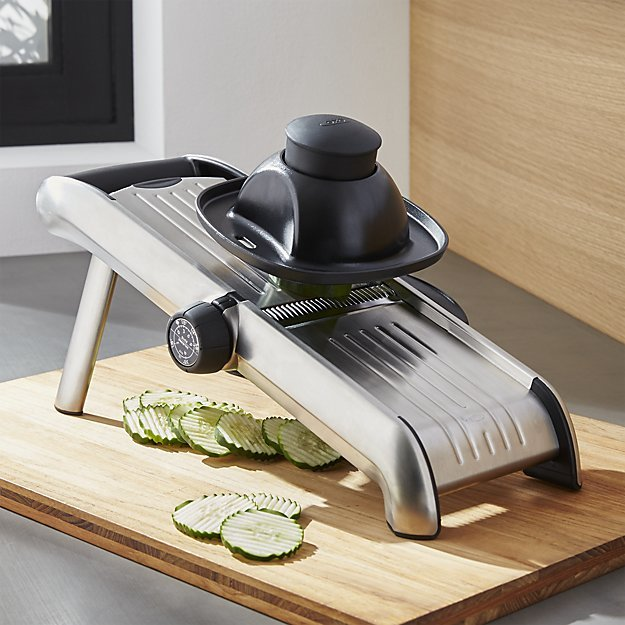 Crate & Barrel OXO ® Stainless Steel Mandoline