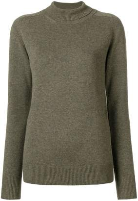 Victoria Beckham roll-neck fitted sweater