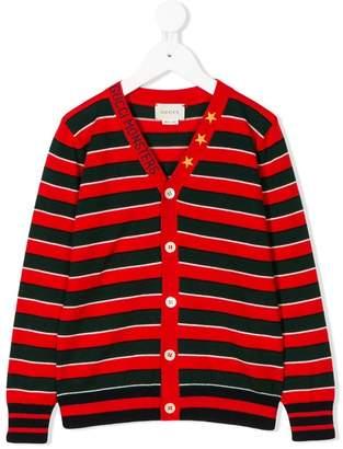 Gucci Kids striped cardigan