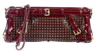 Burberry Studded Hyde Clutch