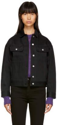 Acne Studios Black Bla Konst Denim Lamp Jacket