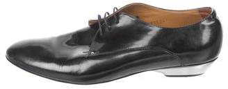 Giorgio Armani Metallic Derby Shoes