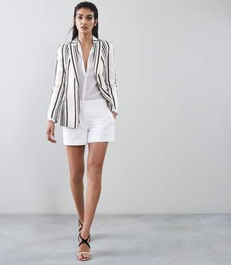 Reiss Rodeo Jacket TAILORED BLAZER White/black