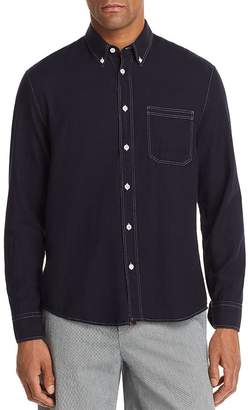 Billy Reid Tuscumbia Contrast-Stitched Regular Fit Button-Down Shirt