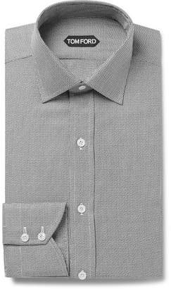 Tom Ford Slim-Fit Woven Cotton-Blend Shirt