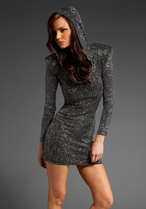 Brian Lichtenberg Hooded Dress