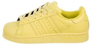 SuperStar Pharrell Williams x Adidas Kids' Leather Sneakers w/ Tags