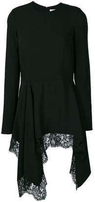 Givenchy lace trim top
