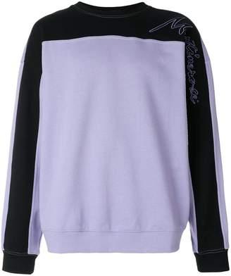 Martine Rose colour-block sweatshirt