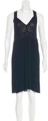 Magaschoni Sleeveless Knee-Length Dress