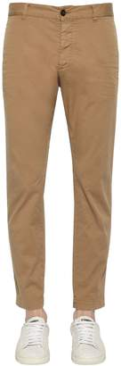 DSQUARED2 16.5cm Tidy Biker Cotton Canvas Pants