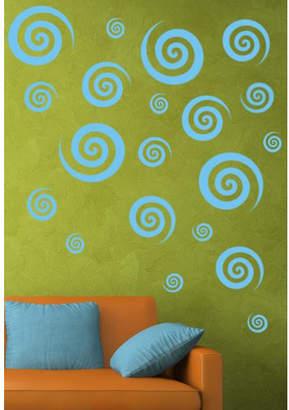 DAY Birger et Mikkelsen Alphabet Garden Designs Swirly Swirls Set Wall Decal