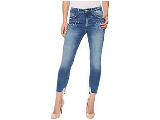 Mavi Jeans Tess High-Rise Super Skinny Ankle in Indigo Pearl Women's Jeans