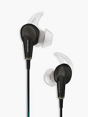 Bose QuietComfort® Noise Cancelling® QC20 Acoustic In-Ear Headphones for iPad, iPhone and iPod