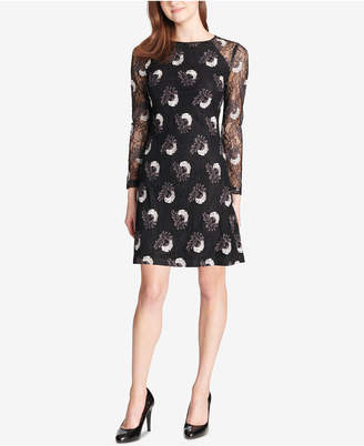 Tommy Hilfiger (トミー ヒルフィガー) - Tommy Hilfiger Bloom Embroidered Lace Dress