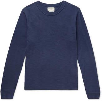 Oliver Spencer Loungewear - Berwick Slub Cotton-Blend Sweater