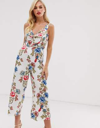 UNIQUE21 twist front jumpsuit