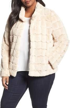 Kristen Blake Faux Fur Jacket
