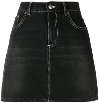 Ganni mini denim skirt