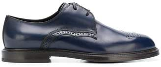 Dolce & Gabbana Derby round toe brogues