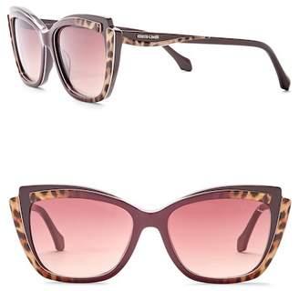 Roberto Cavalli Women's 58mm Acetate Cat Eye Sunglasses