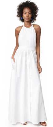 Mara Hoffman Cotton Backless Dress $250 thestylecure.com