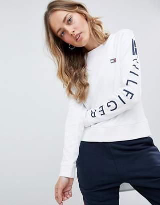 Tommy Hilfiger Logo Sleeve Sweatshirt