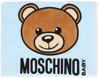 Moschino Light Padded Jersey & Chenille Blanket