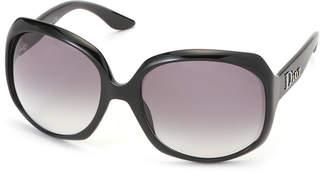 Christian Dior (クリスチャン ディオール) - Dior サイドロゴ バタフライ アイウエア フレーム:ブラック レンズ:スモークグラデーション 62